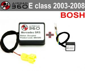 Mercedes SRS  E Class  Passenger Seat mat Occupancy Sensor, occupied recognition sensor  emulator